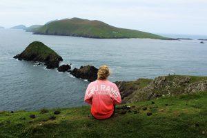 CSU student in Dingle, Ireland