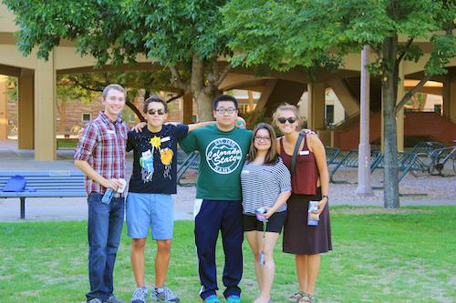 Group of CSU Students CI Web