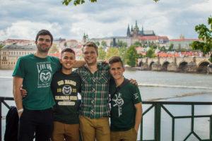 CSU students in Prague, Czech Republic