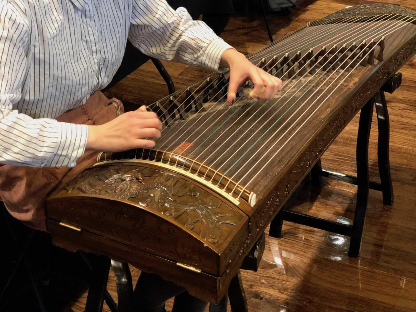 Chinese Zither Guzheng instrument