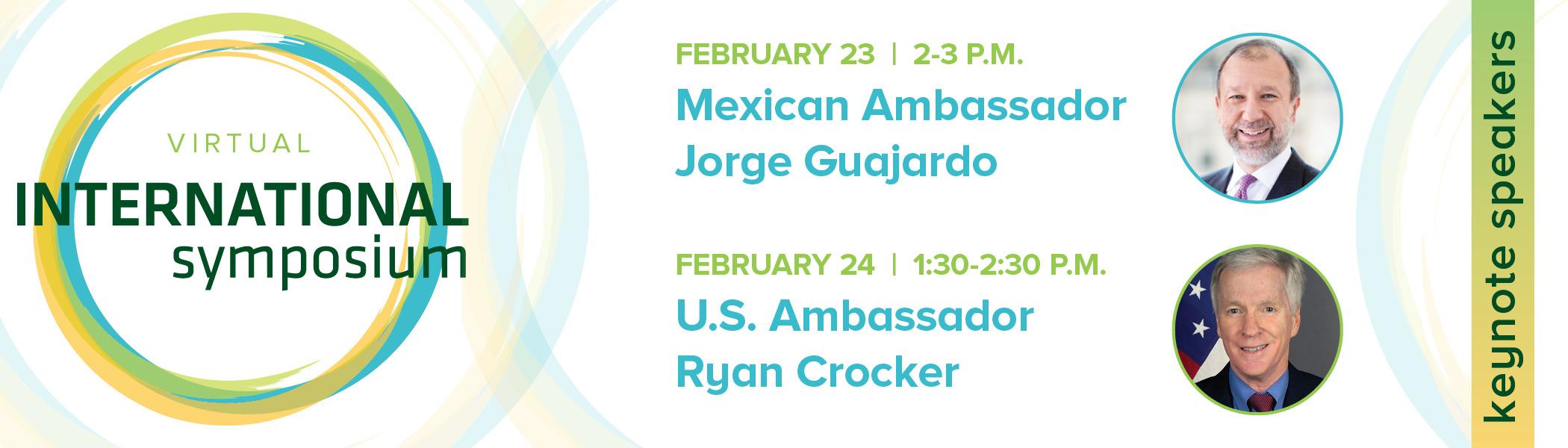 Keynote speakers for 2021 International Symposium